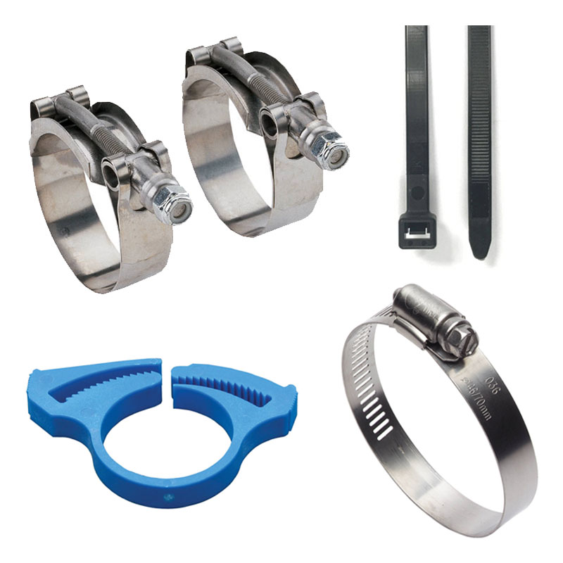 Hose Clamps & Zip Ties