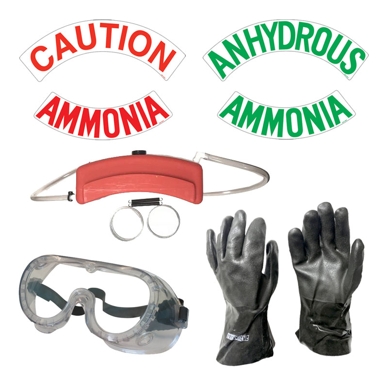 NH3 Safety Equipment