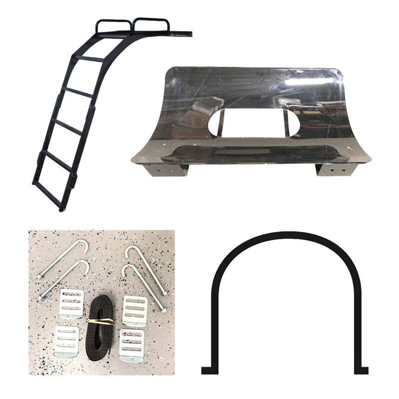 Steel Supports, Tank Bands & Ladders