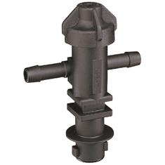 "QUICK TEEJET DOUBLE 1/2"" HOSE BODY W/CHECK VALVE"