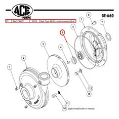 ACE SEAL; TYPE 6A - 3/4 VITON
