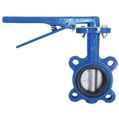 "2"" ABZ BUTTERFLY VALVE W/ HANDLE"