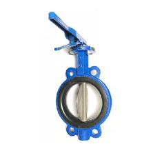 "6"" ABZ BUTTERFLY VALVE W/ HANDLE"