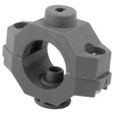 "HYPRO 1"" PIPE WET BOOM BLANK CLAMPS - POLY"