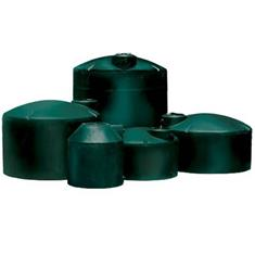 "2500-95"" GALLON VERTICAL GREEN WATER TANK"