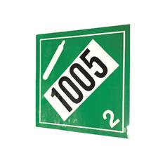 "NH3 SAFETY DECAL -PLACARD ""1005 / 2""  DIAMOND"