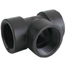 "BANJO 3/8"" FPT POLY PIPE TEE"