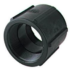 "BANJO 3/4"" FPT X 3/4"" FPT POLY PIPE COUPLING"