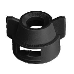 TEEJET TF-VS,TK-VS,TK-VP  QUICK CAP W/SEAT-BLACK