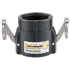 "BANJO 1 1/4"" FEMALE CAM LOCK X 1 1/4"" FPT COUPLER"