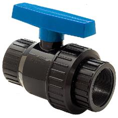 "NORWESCO 1 1/4"" SINGLE UNION BALL VALVE"