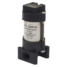 "2201A 12V SOLENOID ON/OFF VALVE - SINGLE 1/4"" FPT"