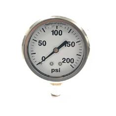 "GAUGE,LIQ,FILL,0-200PSI 2-1/2""BM,SS,BXD,RESTRICTR"