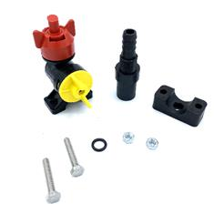 "ATV CENTER NOZZLE ASSMBLY FOR BOOMLESS W/ 1/2"" HB"
