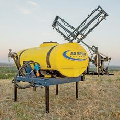 300 GAL ELL TANK, SADDLE & 3 PNT CARRIER-QUIC-TACH