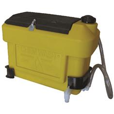 HANDWASH EMERGENCY TANK W/ STORAGE COMPARTMENT