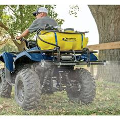 ATV SPRAYER 15 GALLON, HGUN, BOOM BRKT, LESS BOOM