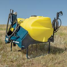 60 GAL 3PT SPRAYER, WITH PLUMBING, LESS BOOM&PUMP