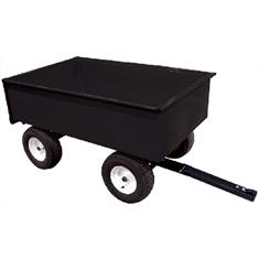 17 CU.FT.4-WHEEL TRAILER STEERABLE CART