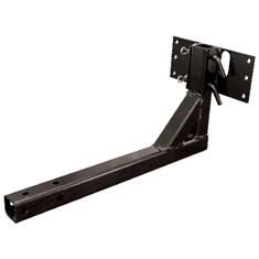 "DRY MATERIAL SPREADER 2"" RECEIVER HITCH BRACKET"