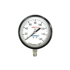 "4"" AMMONIA GAUGE 0-160PSI"