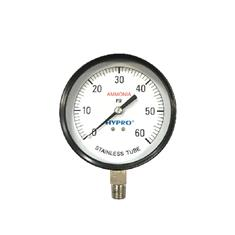 "4"" AMMONIA GAUGE 0-60 PSI"