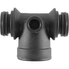 "WILGER SPRAY MONITOR TEE CONNECTOR W/ 1"" FPT"