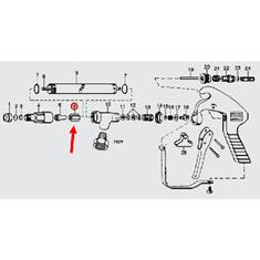 TEEJET 43H SPRAY GUN  GUIDE VANE