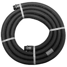 "1"" X 12' EPDM COUPLED MXM CHEMICAL TRANSFER HOSE"