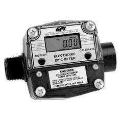 "GPI 1"" ELECTRONIC DIGITAL CHEMICAL DISC METER"