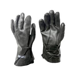 "BLACK NH3 SAFETY GLOVE 12"", KNIT LINED SIZE 10"