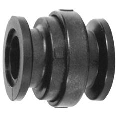 "BANJO 2"" FULL PORT  FLANGED POLY CHECK VALVE"