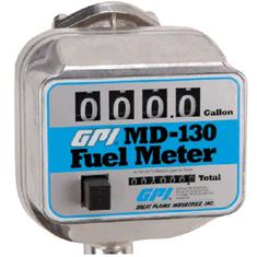 "GPI 3/4"" MECHANICAL FUEL METER - 5 TO 30 GPM"