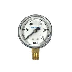 "2 1/2"" DRY FACE 0-100 PSI PRESSURE GAUGE"