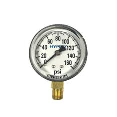 "2 1/2"" DRY FACE 0-160 PSI PRESSURE GAUGE"