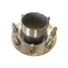 "3"" HALF NIPPLE BOLTED TANK FITTING, 316 SS"