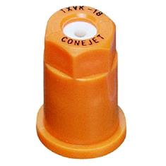 TEEJET TX-VK18 CERAMIC HOLLOW CONE - ORANGE