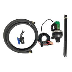 FLOWSERVE CT6 12V PUMP WITH HOSE, VALVE, DIP TUBE, EPDM SEALS, LESS METER