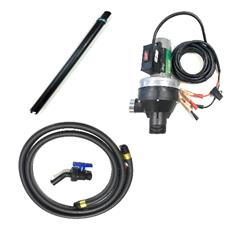 FLOWSERVE CT6 12V HIGH FLOW 18 GPM VITON SEAL PUMP WITH  HOSE, VALVE, DIP TUBE - LESS METER